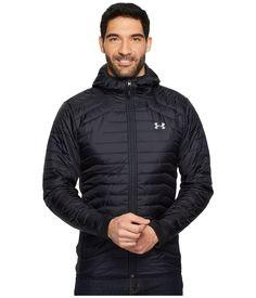 Under Armour Ua Coldgear Hybrid Jacket In Black/black/steel Under Armour Men, Athletic Fashion, Mens Fashion, Steel, Hoodies, Ua, Long Sleeve, Sleeves, Jackets
