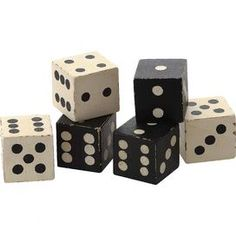Exeter Dice (Set of 6)