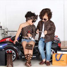 When twinin is life #feternaltwins  @twinsdiazpineda #twiningtuesday #trendy #stylish #fashion