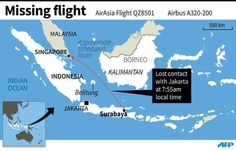 Search for missing AirAsia jet QZ8501 bound for Singapore from Indonesia suspended - Yahoo News Singapore