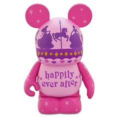 Happily Ever After Vinylmation - a Disney touch to use as a prop in wedding photos