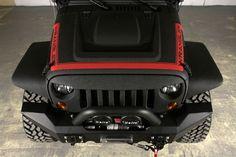2013 Jeep Wrangler Unlimited (24S Pkg) #starwoodmotors #jeep #jeepwrangler #kevlar #black #red