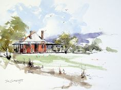 Pen and ink drawing and painting gallery of Joe Cartwright