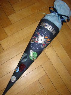 """Schultüten - Schultüte """"Sternenjäger 5.0"""" - ein Designerstück von Zuckerhexe bei DaWanda"""