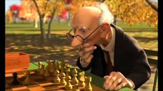 Geri's Game Pixar - Geri's Game is an animated short film made by Pixar in 1997, written and directed by Jan Pinkava. It was the first Pixar short created after the 1989 Knick Knack. The film won an Academy Award for Best Animated Short Film in 1998.