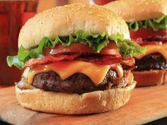Dos ricas hamburguesas de ternera