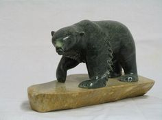 Bear 33 - Inuit Soapstone Carvings
