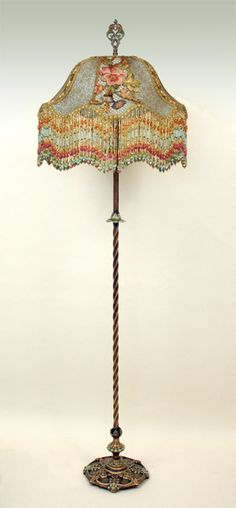 1000 images about antique floor lamps on pinterest for Vintage pink floor lamp