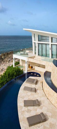Balinese-influenced Villa Kishti in Anguilla-- by Toronto design firm Cecconi Simone Inc