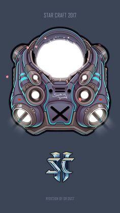 Starcraft 2, Stars Craft, Cool Art, Sci Fi, 3d Modeling, Drawings, Robot, Artwork, Zero