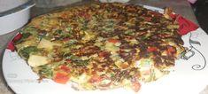 Tortilla de verdura Vegetable Pizza, Quiche, Vegetables, Breakfast, Food, Veggie Omelette, Food Cakes, Morning Coffee, Essen