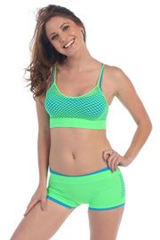 Dancewear Fishnet Tops - - 2Fit Fashion