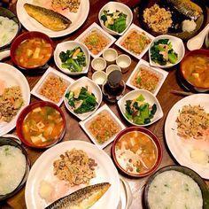 七草粥を皆でいただきました。餅入りで美味しい! - 18件のもぐもぐ - 七草粥と卯の花と小松菜とエリンギの蒸し煮と深谷ネギと豆腐のお味噌汁と納豆 by toki69