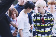 Jimin and Suga ❤ BBQ Ocean World's Wave Summer Pool DJ Party #BTS #방탄소년단