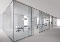 Oficinas en vidrio