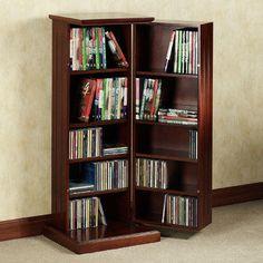 Pedestal Media Storage Cabinet
