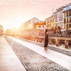 Sunrise Navigli Milan Alba Navigli