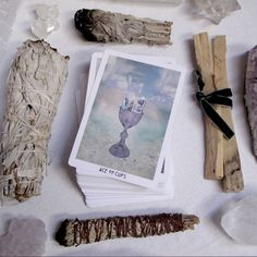 HOW TO CLEANSE YOUR TAROT CARDS
