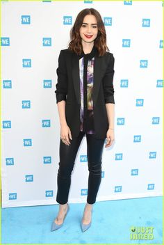 Lily Collins & Jessie J Team Up To Make World A Better Place At WE Day Cocktail 2017!