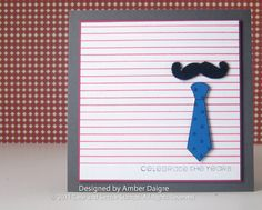 mustache card - Male Birthday, Birthday Cards For Men, Diy Cards, Your Cards, Mustache Cards, Dad Day, Masculine Cards, Homemade Cards, Paper Crafting