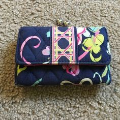 Vera Bradley wallet Used wallet, has a few aged spots on the sides. Vera Bradley Bags Wallets