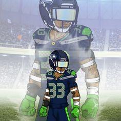 Seahawks Players, Seahawks Football, Dodgers Baseball, Seattle Seahawks, Funny Football Memes, Football Pictures, Crimson Tide Football, Alabama Crimson, Kobe Bryant Michael Jordan