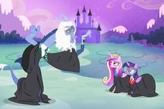 MLP goes to Hogwarts!!!