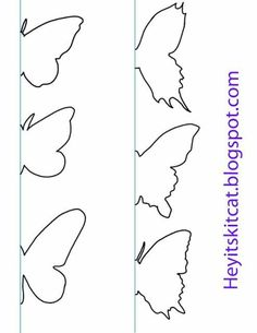 Heyitskitcat: DIY Schmetterlings-Wand-Dekor: Source by nagihan_yalcink Heyitskitcat: DIY Schmetterling Wanddeko: - Site Name Heyitskitcat: DIY Butterfly Wall Decor: - diy decor new Butterfly Templates for your rainy day DIY's DIY butterfly, book paper wit Butterfly Wall Decor, Butterfly Crafts, Butterfly Art, Diy Butterfly Decorations, Butterfly Mobile, Origami Butterfly, Diy Decoration, Wall Decorations, Diy Paper