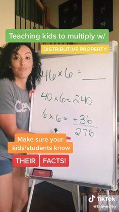 Mental Math Tricks, Cool Math Tricks, Life Hacks For School, School Study Tips, Math For Kids, Fun Math, Math Tutorials, Maths Solutions, Math Vocabulary