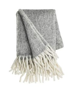 Wool is an ancient natural material used by us northerners to provide warmth. This throw...