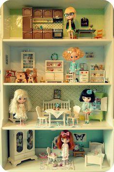 """Leksvik dollhouse"" by Herzlichkeiten, via Flickr"