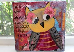 Owl by Sunshine Girl Designs