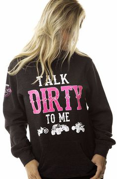 Talk Dirty To Me Pullover Hoodie | OFF-ROAD VIXENS CLOTHING CO.