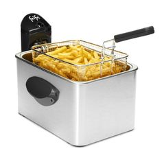 Friteuse Frifri 5848 Anti-traces grâce à son manteau en aluminuim, la Frifri 5848 est la friteuse tendance qui illuminera vos cuisines et feras des jaloux...