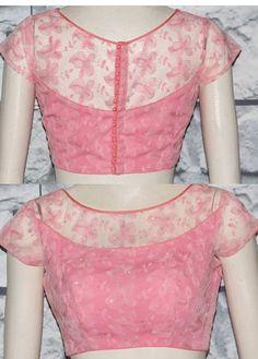 Blouse Back Neck Designs, New Saree Blouse Designs, Cutwork Blouse Designs, Netted Blouse Designs, Simple Blouse Designs, Stylish Blouse Design, Bridal Blouse Designs, Blouse Styles, Sari Blouse