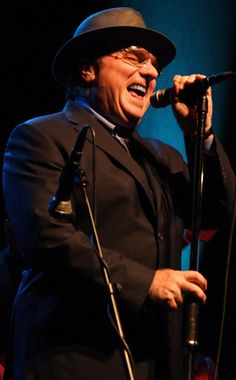 """The music legend grew up in Belfast before writing hit songs like """"Brown Eyed Girl"""" and """"Moondance."""" #VanMorrison"""