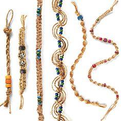 Hemp Bracelets Klutz Book