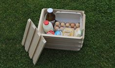 WooBox wood and wool cooler