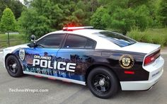 Police car graphics wrap by TechnoSigns in Orlando, Florida | Flickr - Photo Sharing!