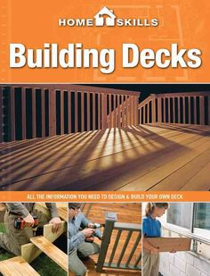 As part of our comprehensive HomeSkills DIY series, HomeSkills: Building Decks takes the fear out of adding the perfect outdoor element to your house. Theres a reason that deck building is the most po Laying Decking, Decking Area, Building Design Plan, Building A Deck, Synthetic Decking, Deck Framing, Deck Construction, Diy Deck, Deck Plans