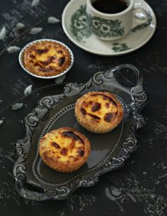 A famous sweet treat in Macau. Easy to make these buttery flaky, crispy pastry and a blistered custard top yummy egg tarts at home in a short time.