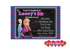 www.worksheart.com We offer Personalized Shirts, Invitations, Favors, Cake Toppers, Save the Date, and MORE. Don't see the theme you need? No Problem, just send us a message for something completely custom. Tags: Disney Nickelodeon Birthday Party Custom Personalize Wedding Paw Patrol Power Rangers TMNT Mickey Frozen Princess Wally Kazam Bubble Guppies