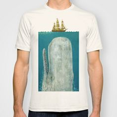 The+Whale++T-shirt+by+Terry+Fan+-+$22.00