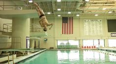 Photo essay springboard diving