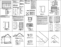 PLANS FOR A SHED - Google Search