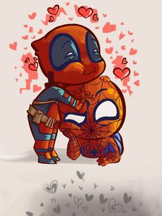 #Deadpool #Fan #Art. (We Have a Difference of Opinion) By: Copic-n-Ink. (THE * 5 * STÅR * ÅWARD * OF: * AWWWWW YEAH, IT'S MAJOR ÅWESOMENESS!!!™)[THANK U 4 PINNING!!!<·><]<©>ÅÅÅ+