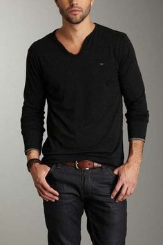 Simple and nice fashion of men