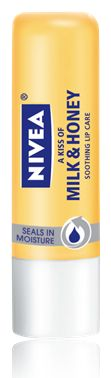 NIVEA Lip Care - NIVEA  Milk & Honey...I love the smell of this one.  Nivea lip balms are great, but they don't last as long as I would like them.