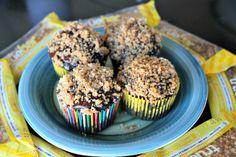 Dark Chocolate Walnut Cappuccino Cupcakes #glutenfree #recipe
