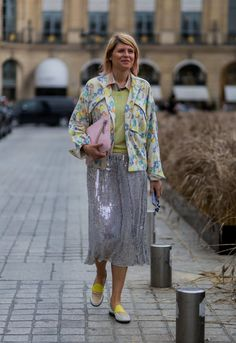 Pin for Later: Retour Sur les Meilleurs Looks Street Style de la Semaine de la Haute Couture Elisa Nalin